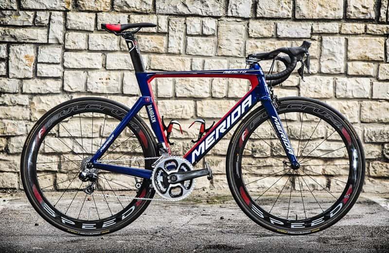 Ecco la bici da corsa di Vincenzo Nibali
