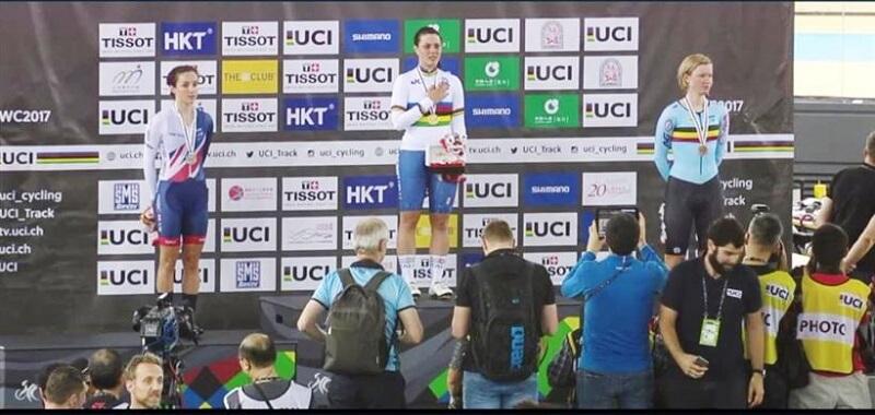 Rachele Barbieri Oro per l'Italia ai Mondiali su Pista di Honk Kong 2017
