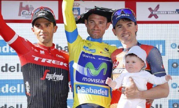 A Roglic la crono a Valverde la vittoria finale al Giro dei Paesi Baschi 2017