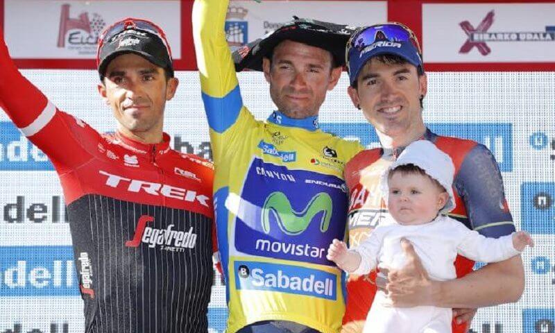 A Roglic la crono a Valverde la vittoria finale del Giro dei Paesi Baschi 2017