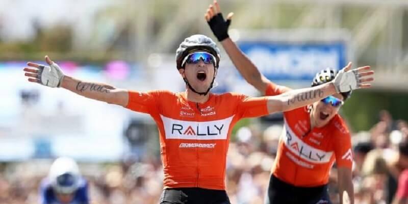 Giro di California 2017 quarta tappa vittoria a Huffman, decimo Consonni