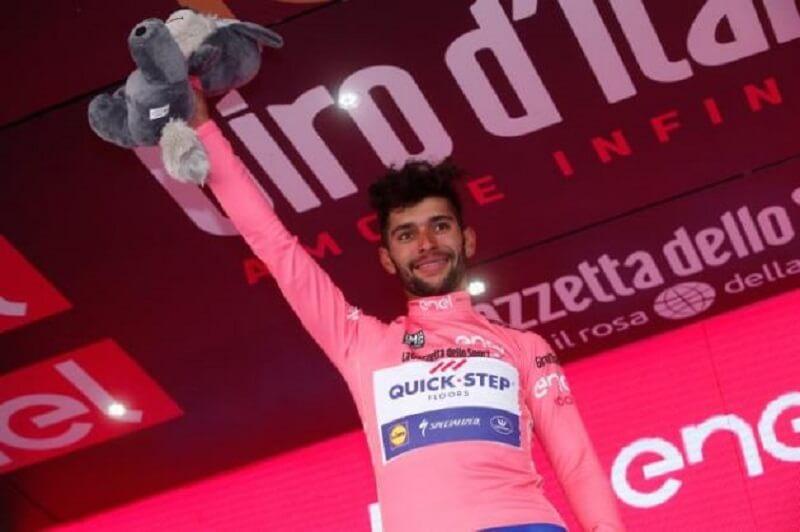 Fernando Gaviria Maglia Rosa a Giro 100 dopo la tre giorni Sardegna