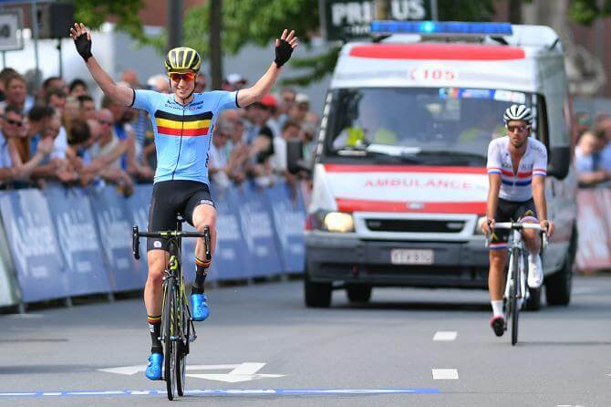 Keukeleire vince il Baloise Belgium Tour 2017 a Debusschere la 5/a tappa