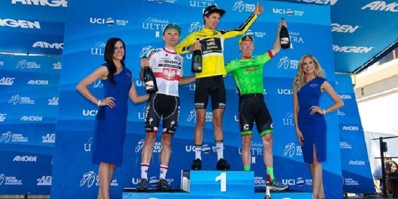 Giro di California 2017 ad Huffman la 7/a tappa e a Bennett il Tour
