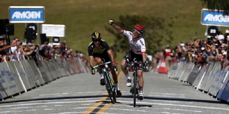 Giro di California 2017: Majka vince la seconda tappa da Modesto a San Jose e conquista la maglia di leader della generale