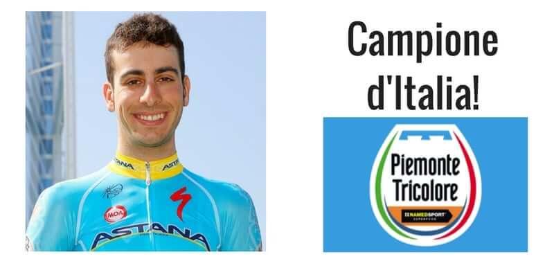 Fabio Aru Campione d'Italia 2017