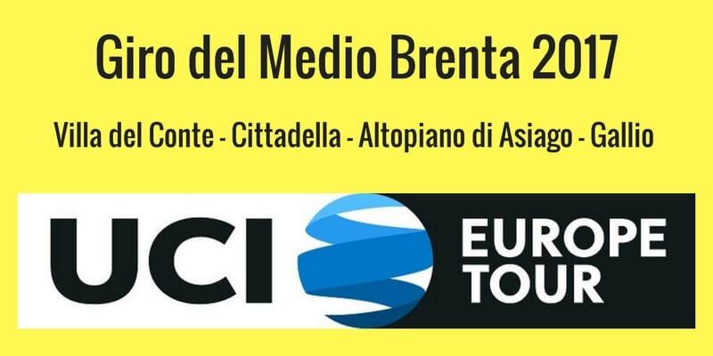 Giro del Medio Brenta 2017 presentazione con percorso e altimetria