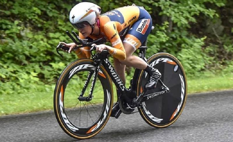 Giro Rosa 2017 la Boels-Dolmans Cycling Team vince la crono, Canuel leader