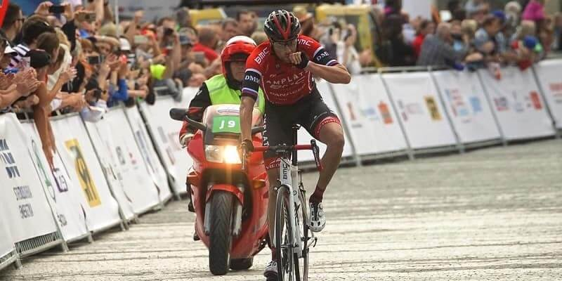 Giro di Slovacchia 2017 vittoria di Mugerli nella 3/a tappa