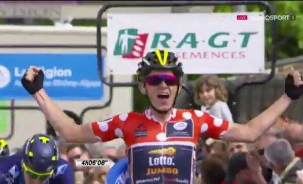 Al Delfinato va in porto la fuga e vince Bouwman, De Gendt ancora leader