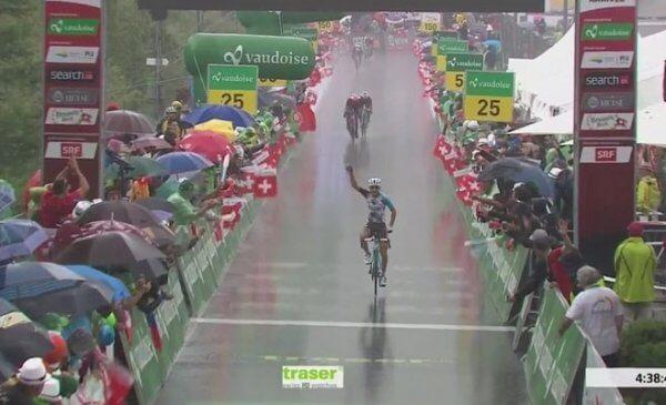 Giro di Svizzera: Pozzovivo vince a La Punt e diventa leader della generale!