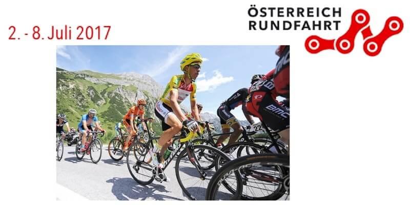 Giro d'Austria 2017 tappe percorso con altimetrie e start list