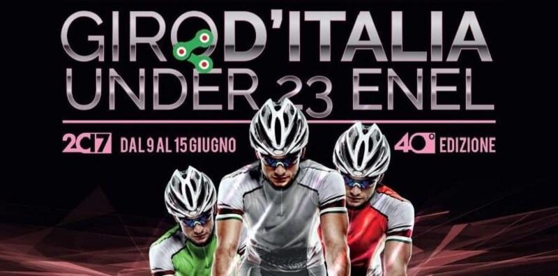 La copertina del 40esima Edizione del Giro d'Italia U23