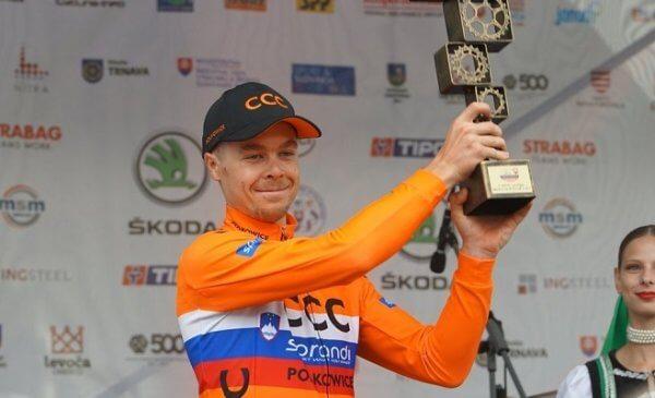 Tratnik vince il prologo del Giro di Slovacchia 2017 Cattaneo terzo
