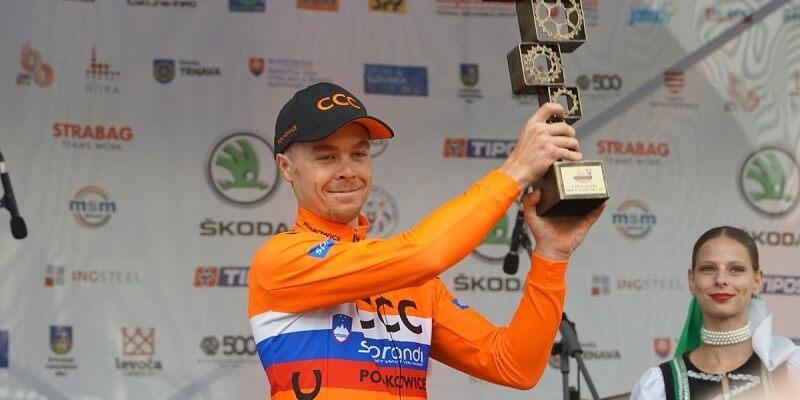 Jan Tratnik CCC Sprandi Polkowice vincitore del Giro di Slovacchia 2017