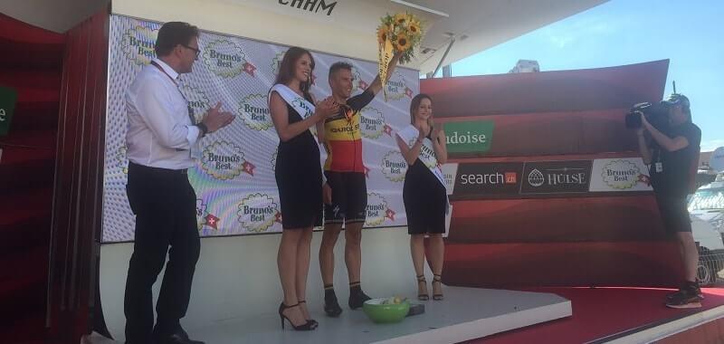 Giro di Svizzera: Gilbert vince in volata la seconda tappa a Cham