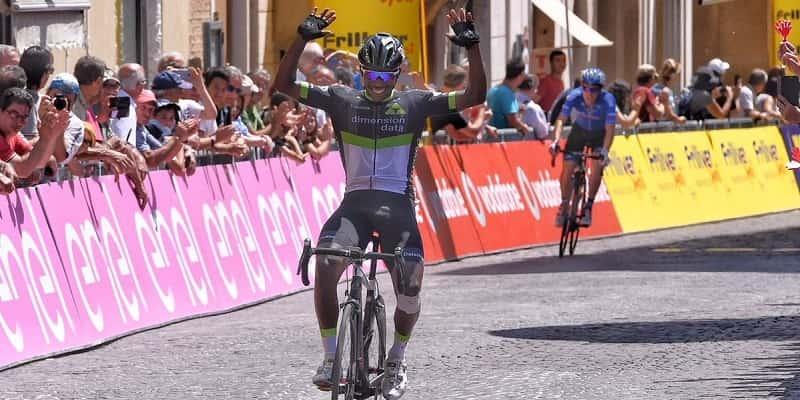 Giro d'Italia Under 23 2017 Areruya vince la semi tappa a Osimo