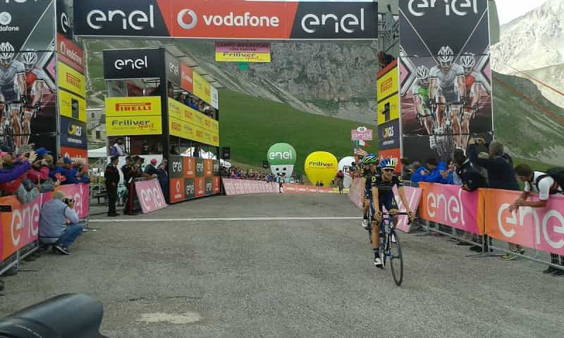 Giro d'Italia Under 23 2017 tappa 7: Hindley vince a Campo Imperatore