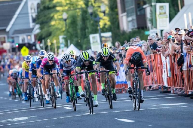 Cascade Cycling Classic 2017 tappa 4 vittoria di Kline