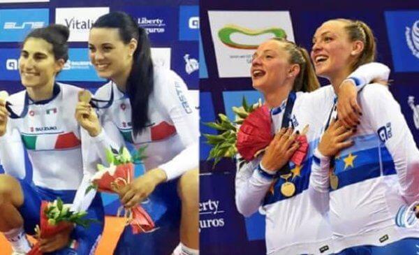 Campionati Europei Pista: ancora medaglie nell'ultima giornata!