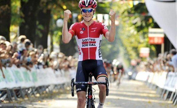 Giro della Valle d'Aosta 2017 tappa 3 vittoria di Van Houcke, Carboni 1° nella generale