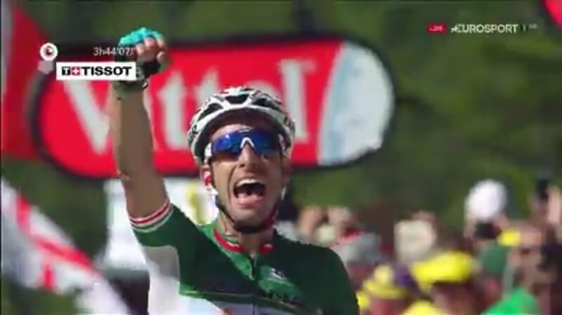 Tour de France 2017 tappa 5 Fabio Aru mette in fila tutti!