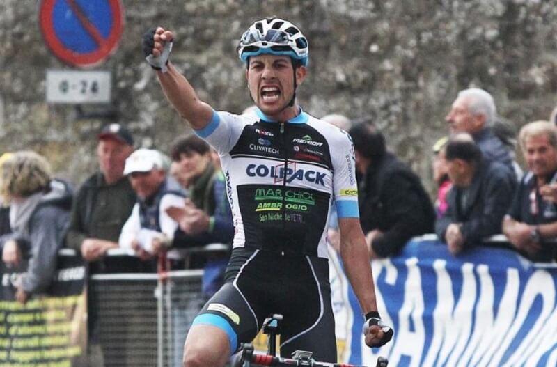 Giro della Valle d'Aosta 2017 tappa 2 vittoria di Carboni