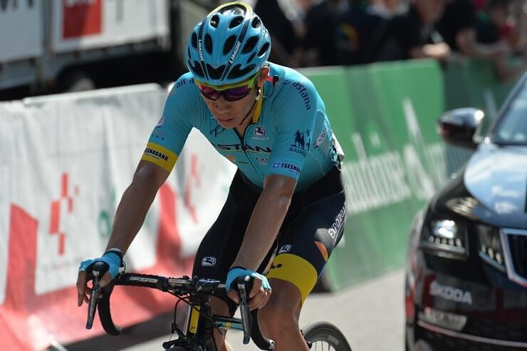 Giro d'Austria tappa 4 vittoria di López, Ciccone terzo