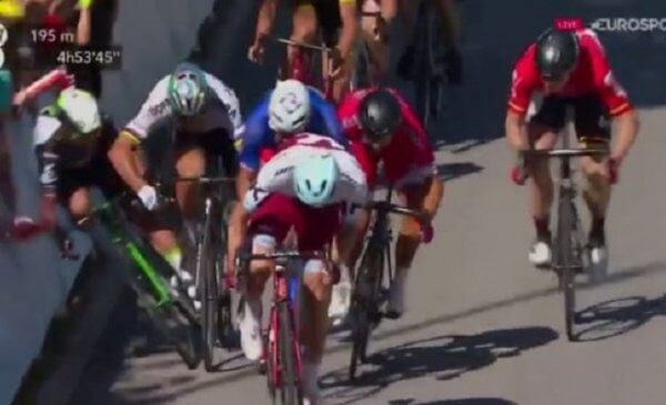 Tour de France 2017: Peter Sagan Squalificato