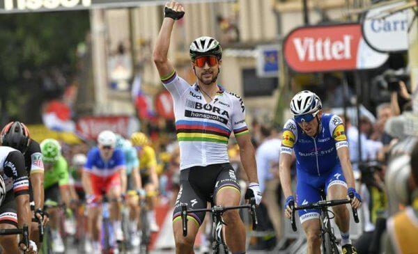 Tour de France 2017 tappa 3 vittoria di Peter Sagan!