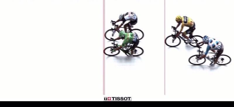 Tour de France 2017 Uran vince la tappa del Mont du Chat!
