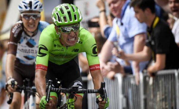 """Tour de France 2017: Penalità per Uran, retrocesso di 20"""""""