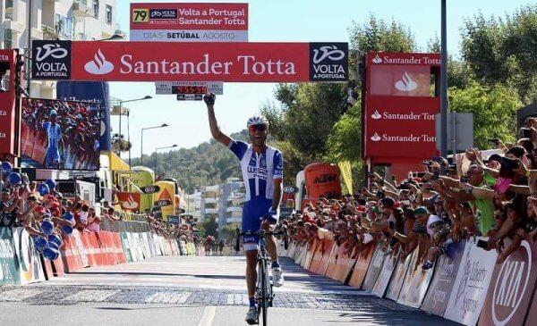 Giro di Portogallo 2017 vittoria di Alarcon nella 1^ tappa