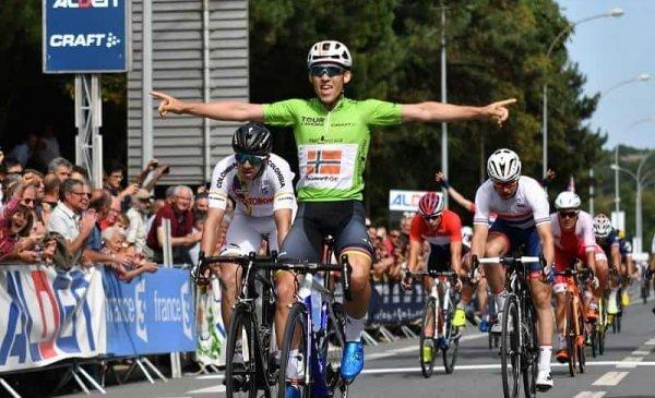 Tour de l'Avenir 2017 tappa 3 vittoria del norvegese Halvorsen