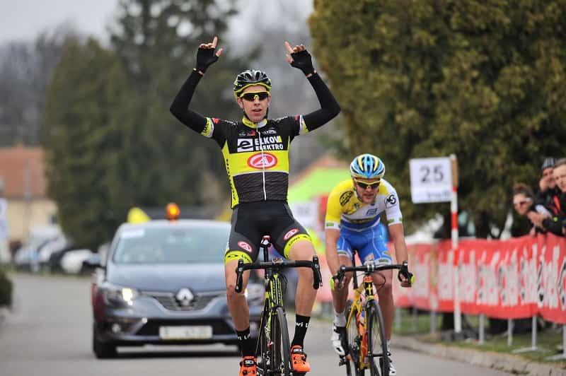 Giro della Repubblica Ceca 2017 Cerny vince la tappa e la maglia di leader