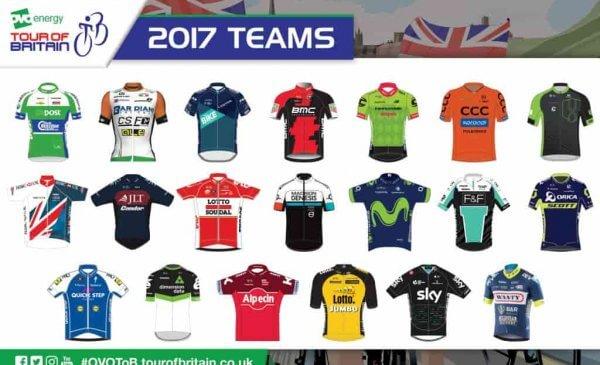 Tour of Britain 2017: ecco i Team che prenderanno il via alla 25^ edizione