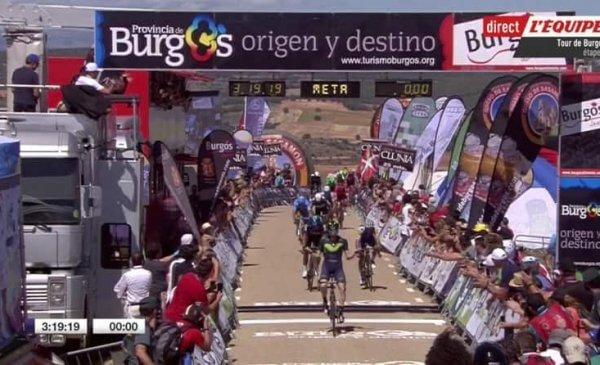 Vuelta a Burgos 2017 tappa 4: vittoria in volata di Barbero, secondo Moscon!