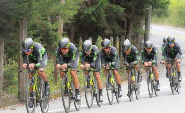 La EPM vince la crono a squadre d'apertura della Vuelta a Colombia 2017