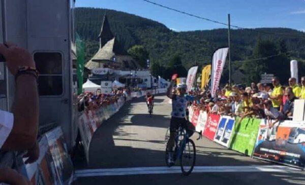 Cyril Gautier vince la 3^ tappa al Tour du Limousin 2017