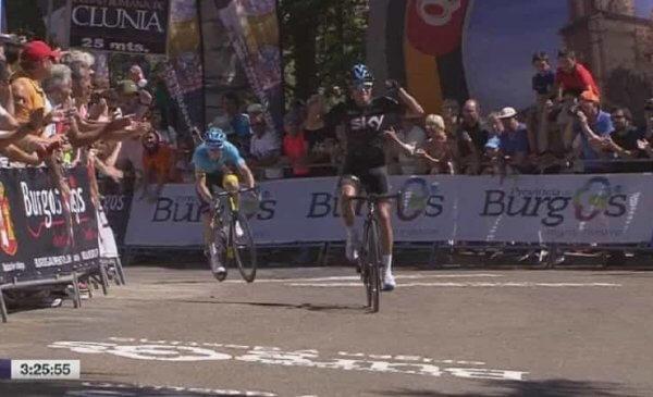 Mikel Landa vince la 1^ tappa alla Vuelta a Burgos 2017