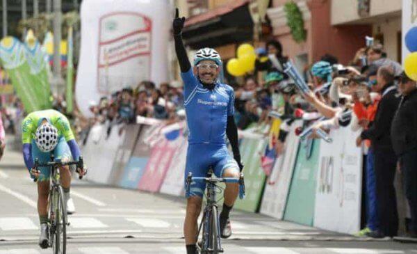 Vuelta a Colombia 2017: José Serpa vince la 7^tappa, Aristobulo Cala ancora leader