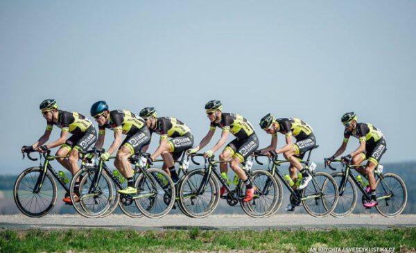 Giro della Repubblica Ceca 2017 la crono a squadre alla Elkov-Author