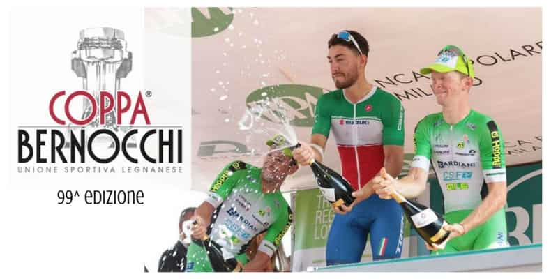 Coppa Bernocchi 2017: percorso e start list della 99^ edizione