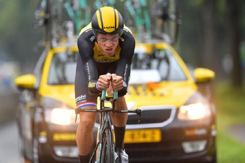 Tour of Britain 2017 Boom vince la crono e diventa il nuovo leader della generale