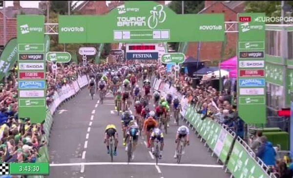 Tour of Britain 2017 torna alla vittoria Fernando Gaviria! Viviani 2°