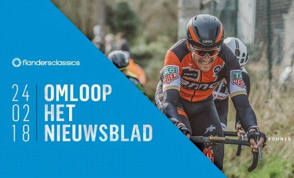 Omloop Het Nieuwsblad Elite 2018 percorso, altimetria e star list