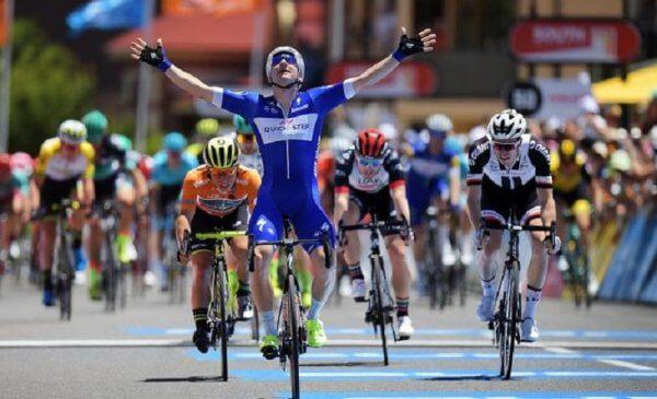 Elia Viviani vince al Santos Tour Down Under 2018 la terza tappa 3!