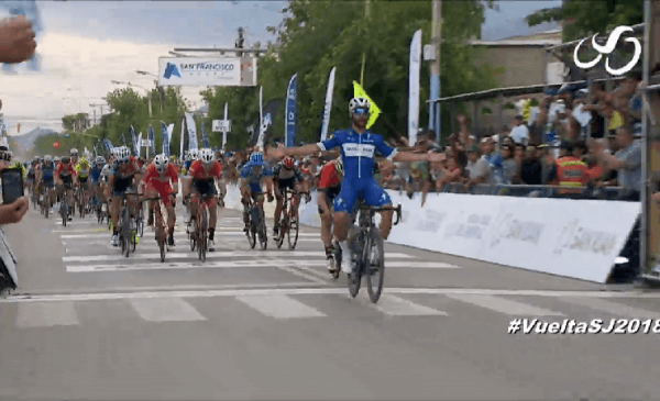 Vuelta a San Juan 2018 tappa 1: vince Gaviria, quattro italiani alle sue spalle!