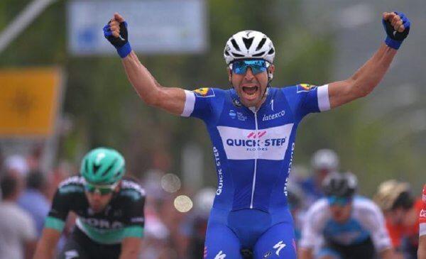 Vuelta a San Juan 2018 tappa 4: Richeze vince davanti a Nizzolo e Pelucchi, Ganna sempre leader