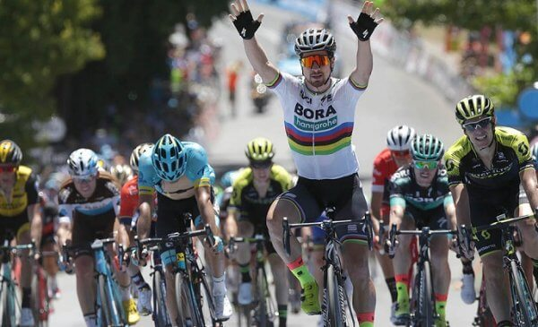 Sagan vince la 4^ tappa al Santos Tour Down Under 2018